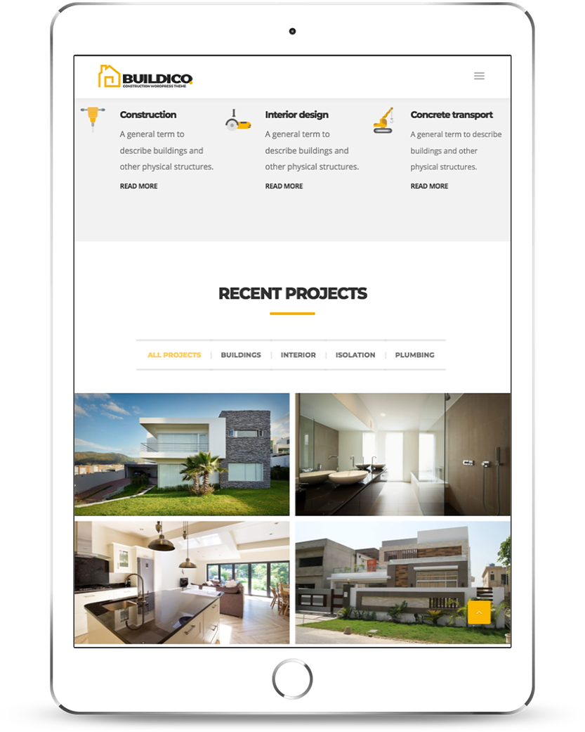 construction-company-website-on-ipad