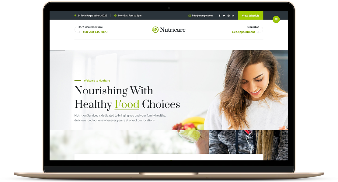 Nutri-website-example