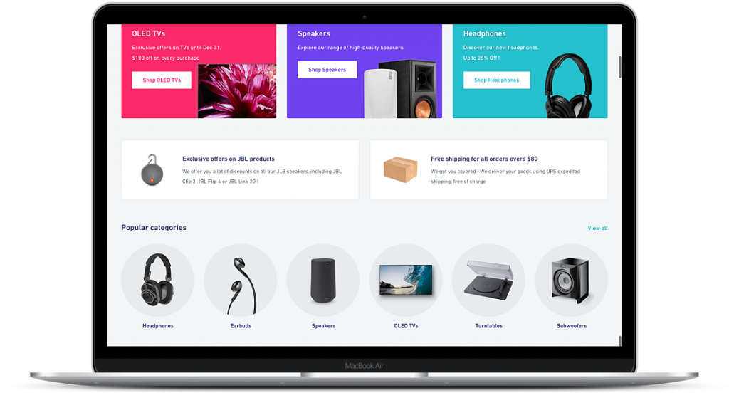 shopify store example
